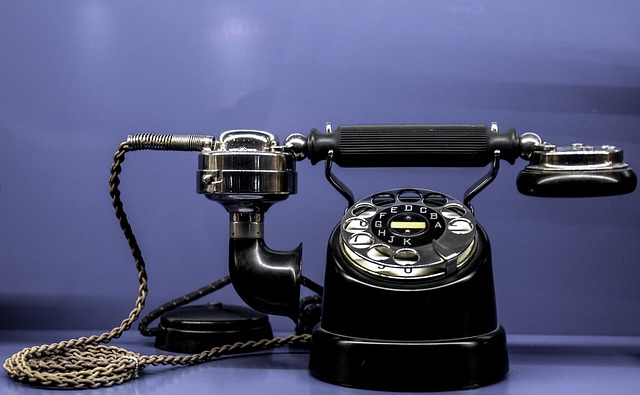 telefon stary, antyk